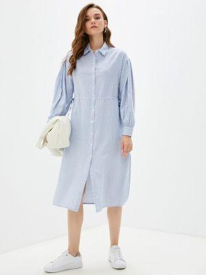Платье рубашка - голубое Tiffosi