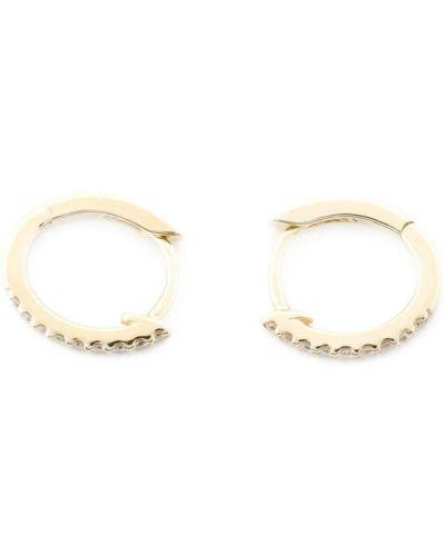 Серьги-кольца золотые Dana Rebecca