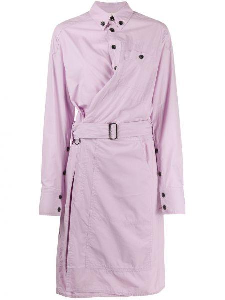 Платье макси длинное - фиолетовое A.f.vandevorst