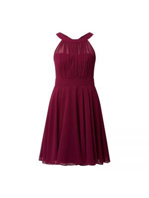 Sukienka koktajlowa rozkloszowana z szyfonu Paradi