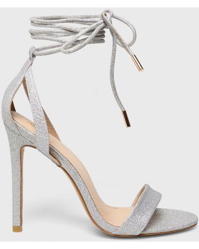 Туфли на каблуке на шнуровке на шпильке Public Desire