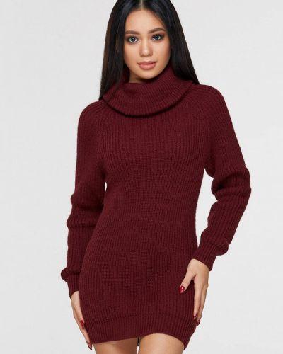 Платье - бордовое Brunello De Neri