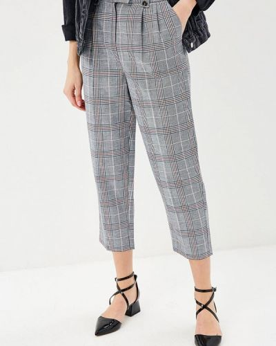 Серые классические брюки Topshop