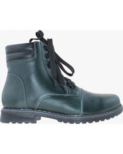 Ботинки - зеленые Carvallio
