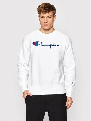 Bluza z haftem - biała Champion