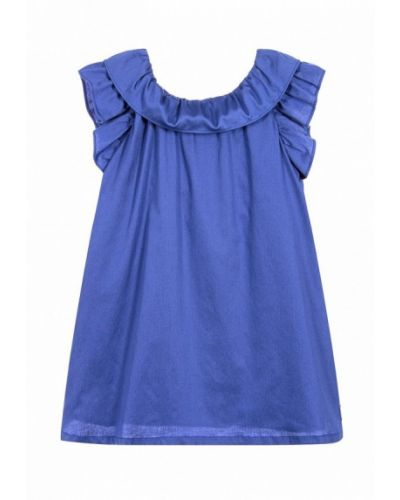 Платье синий Lili Gaufrette