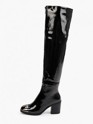 Лаковые ботфорты - черные Diora.rim