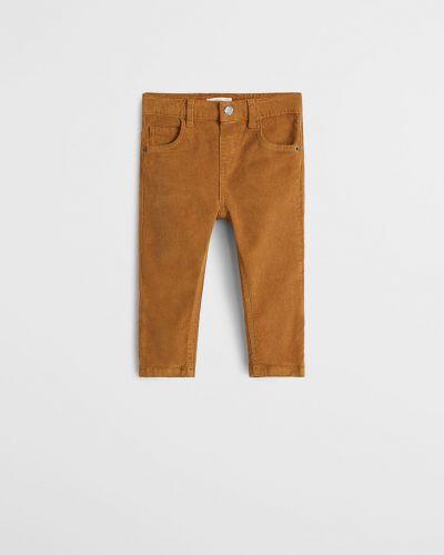 Spodnie wełniany skromny Mango Kids