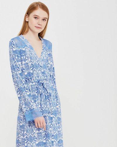 Синий халат Deseo