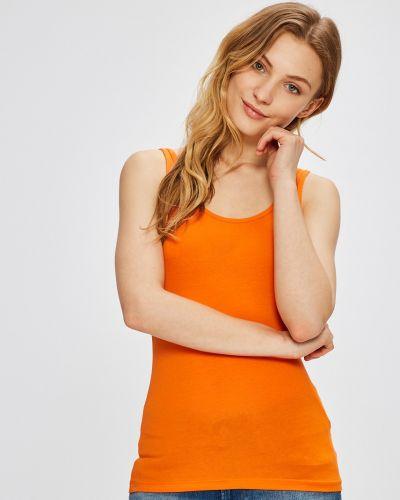 Оранжевый топ Miss Poem