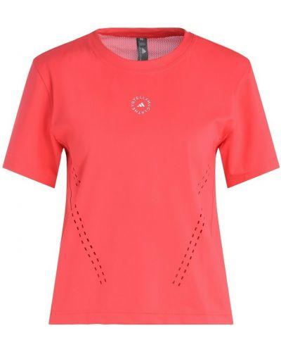 Różowa t-shirt Adidas By Stella Mccartney