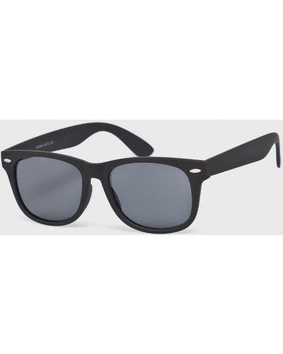 Солнцезащитные очки стеклянные черные Only & Sons