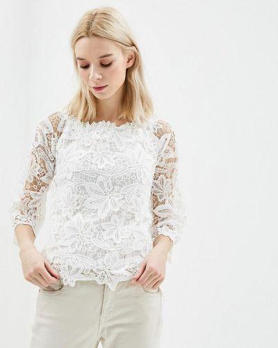 Блузка белая весенний Jean Louis Francois