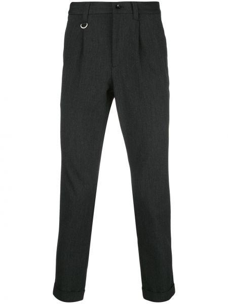 Деловые брюки с поясом на пуговицах Sophnet.