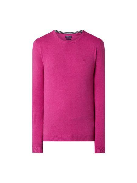 Sweter bawełniany - fioletowy Mcneal