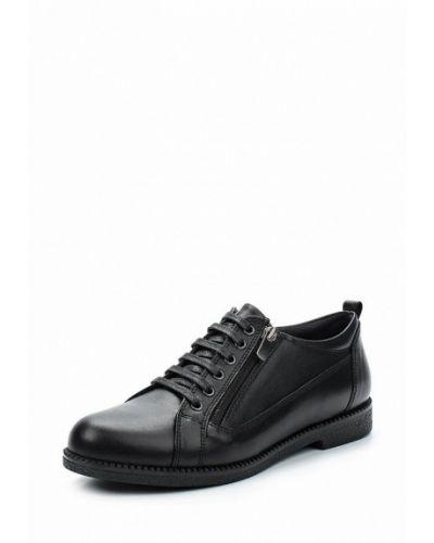 Кожаные ботинки на каблуке Alessio Nesca