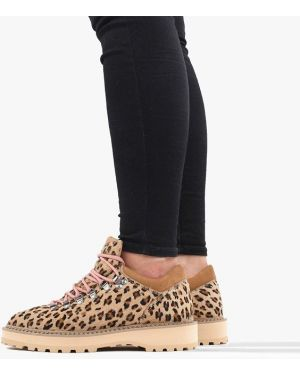 Коричневые кроссовки Diemme