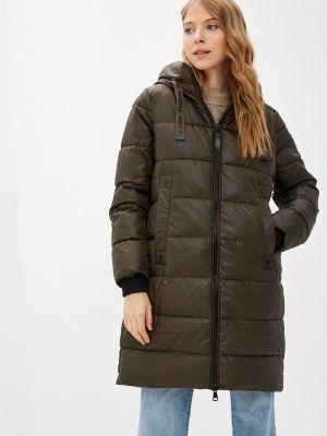 Зимняя куртка хаки Zolla