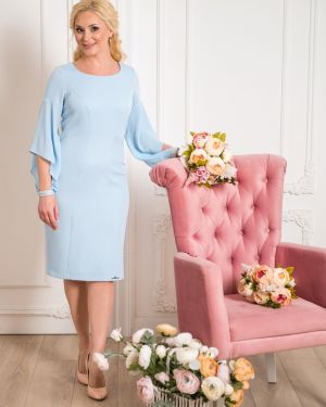 Вечернее платье миди платье-сарафан Merlis