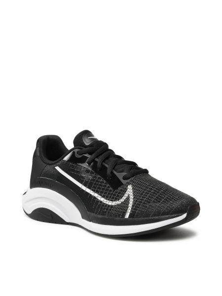 Buty sportowe bez obcasa - białe Nike