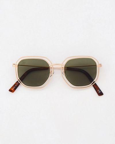 Солнцезащитные очки - золотые Jeepers Peepers