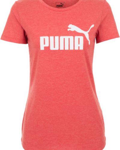 Спортивная футболка с логотипом прямая Puma