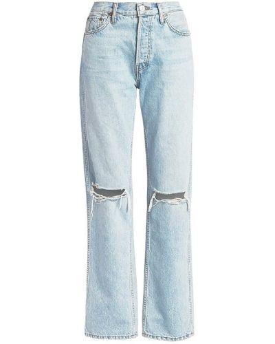 Niebieskie jeansy Re/done