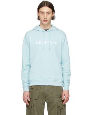 Bluza z kapturem z kapturem niebieski Belstaff