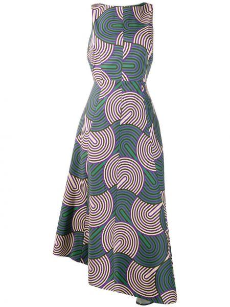 Платье зеленый приталенное La Doublej