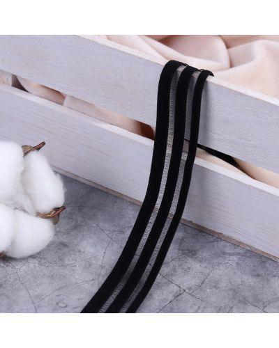Резинка для волос на резинке со вставками арт узор