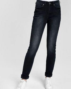 Флисовые джинсы-скинни с карманами с пайетками на пуговицах Ostin
