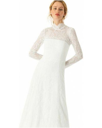 Biała sukienka koronkowa Ivy & Oak