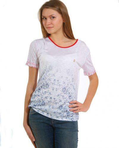 Футболка из вискозы - белая Armani Jeans