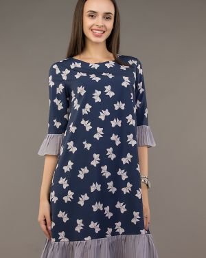 Платье плиссированное платье-сарафан ангелика
