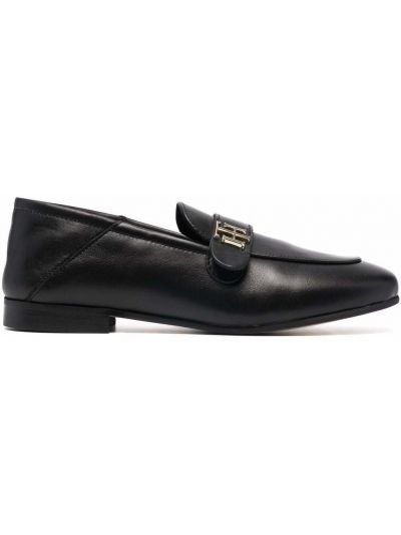 Loafers - czarne Tommy Hilfiger