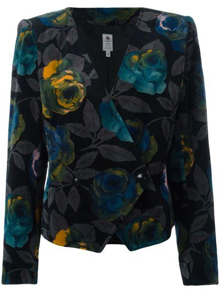 Пиджак на пуговицах винтажный Emanuel Ungaro Pre-owned