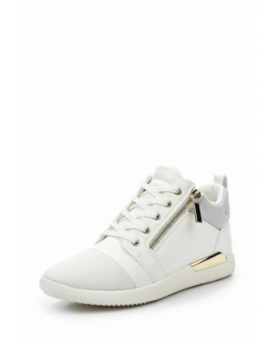 Белые кроссовки из искусственной кожи Aldo