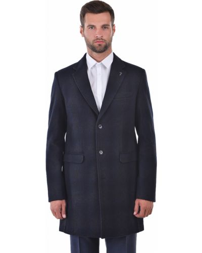 Пальто шерстяное осеннее Trussardi Jeans