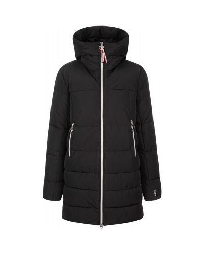 Черная утепленная куртка на молнии Luhta