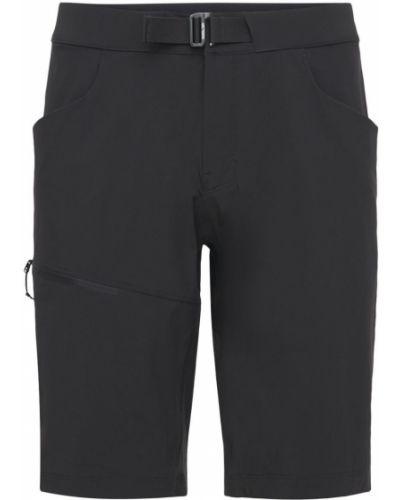 Шорты с карманами - черные Arcteryx