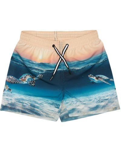 С кулиской шорты для плаванья с карманами Molo