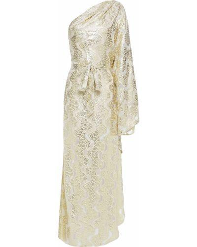 Платье макси с люрексом - золотое Melissa Odabash