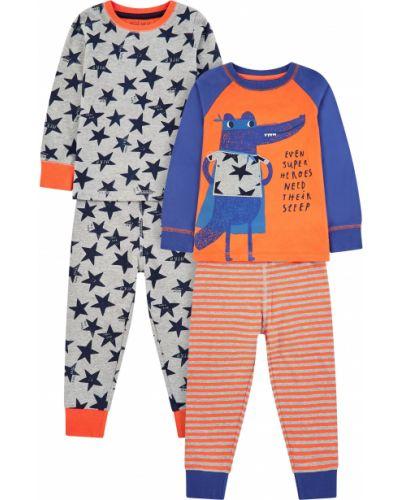 Пижама оранжевый Mothercare