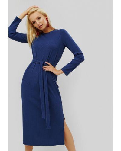 Платье осеннее синее Cardo