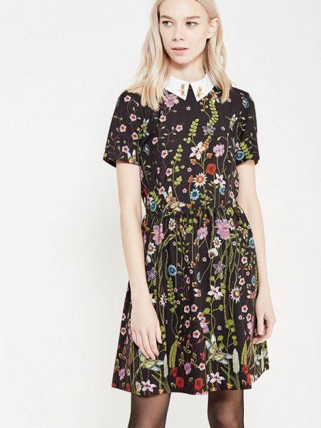 Платье черное платье-сарафан Blugirl Folies