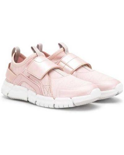 Слипоны розовый Geox Kids