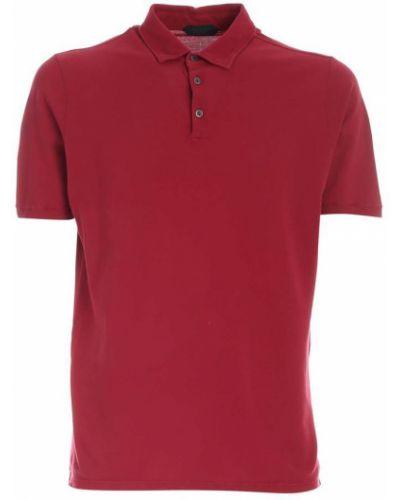 Czerwona koszulka Zanone