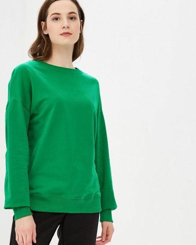 Зеленый свитшот Modis