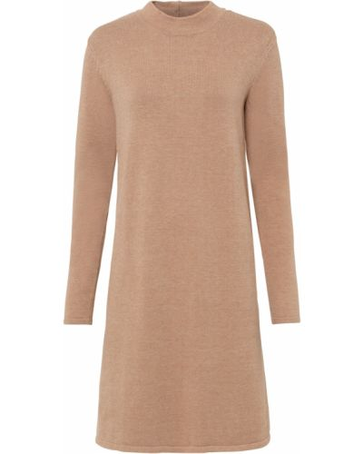 Вязаное платье - бежевое Bonprix