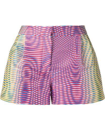 Однобортные шорты с карманами Mary Katrantzou